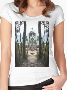 Noosa as you have never seen it. Women's Fitted Scoop T-Shirt