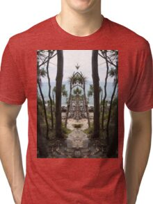 Noosa as you have never seen it. Tri-blend T-Shirt