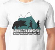 Funny fat joke Unisex T-Shirt