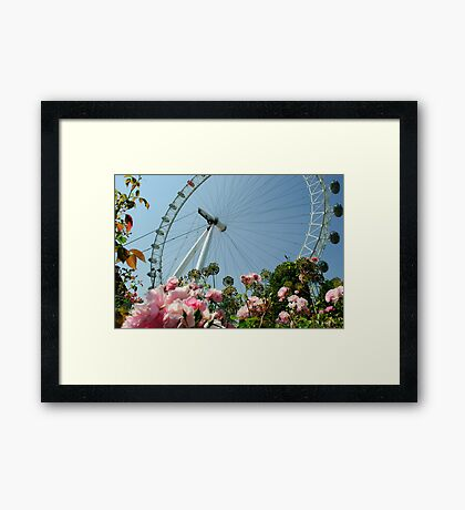 London Eye! Framed Print