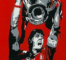 gerrard champions league  by Splatters
