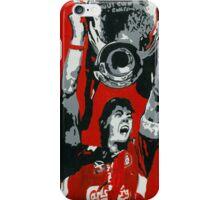 gerrard champions league  iPhone Case/Skin