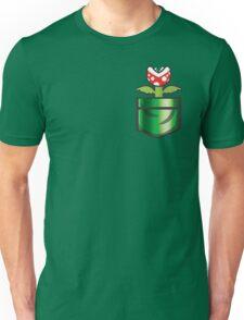 Mario - Piranha Plant Pocket Unisex T-Shirt