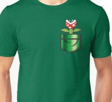 Mario - Piranha Plant Pocket Unisex T-Shirt