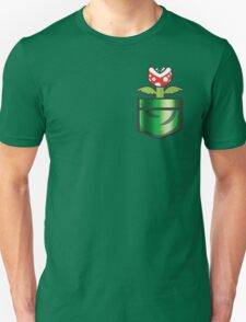 Mario - Piranha Plant Pocket T-Shirt
