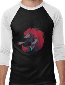 Zoroark Men's Baseball ¾ T-Shirt