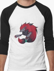 Zoroark Men's Baseball ¾ T-Shirt