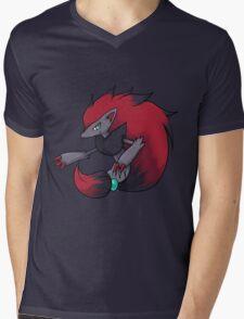 Zoroark Mens V-Neck T-Shirt