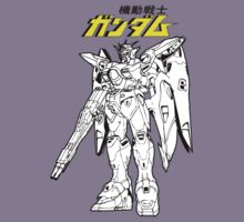 Gundam Wing - Shirt by TheDorknight