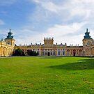 Wilanow Palace, Warsaw, Poland. by FER737NG