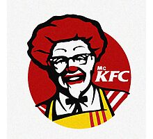 MC KFC Photographic Print