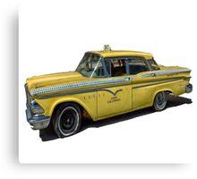 Vintage Cab Taxi  Canvas Print