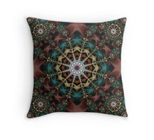 Chained Marble IV Throw Pillow