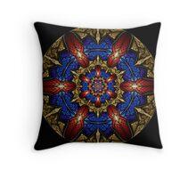 Mayan Shield Throw Pillow
