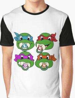 Baby Ninja Turtles  Graphic T-Shirt