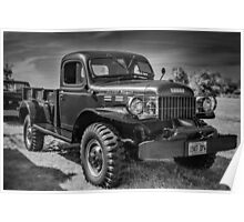 1947 Dodge Power Wagon Poster