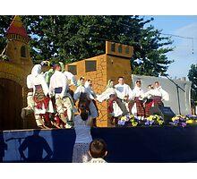 Serbian traditional children's dance Photographic Print