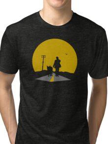 The Lone Strutter Tri-blend T-Shirt
