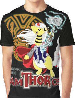 The Mighty Mega AmTHORos Graphic T-Shirt