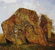 Neolithic stones, Avebury by buttonpresser