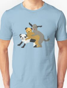 Funny, offensive Sooty,Sweep and Sue Unisex T-Shirt