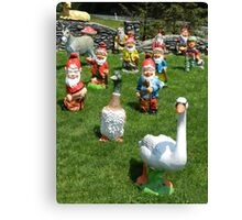 Following the Goose Canvas Print