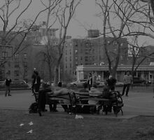 Cadman Plaza Park, Brooklyn by jenmouncey
