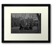 Cadman Plaza Park, Brooklyn Framed Print