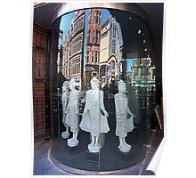 Buchanan Street Shopfront, Glasgow Poster