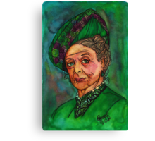 Dowager Countess Canvas Print