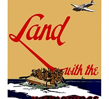 Land With The US Marines by warishellstore