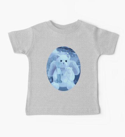 Ƹ̴Ӂ̴Ʒ LOVE AND AFFECTION FROM A BEARY SPECIAL ANGEL TEE SHIRT BLUE FOR BOYS GUARDIAN ANGEL BEAR Ƹ̴Ӂ̴Ʒ Baby Tee