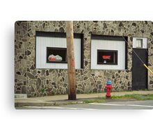 Frankie's Tavern, Binghampton, New York Canvas Print