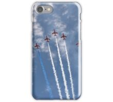 The Red Arrows V Formation iPhone Case/Skin