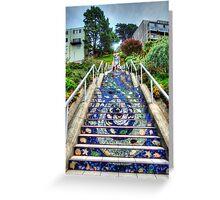 Mosaic Steps Greeting Card