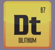 Element of Dilithium v1 (Yellow) Kids Clothes
