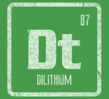 Element of Dilithium (B/W) (Grunge) One Piece - Short Sleeve