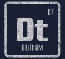 Element of Dilithium (B/W) (Grunge) Kids Clothes