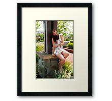 Neighbor Girl 1 Framed Print