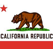 California Bear Flag Republic by emrapper