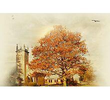 Small town church Photographic Print