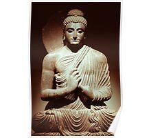 Meditation - Sepia Poster