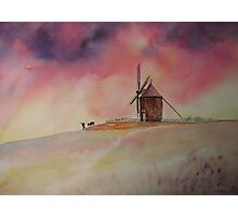 The Mill of Moidrey - The end of a busy day Photographic Print