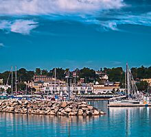 Summertime Marina in Port by James Meyer