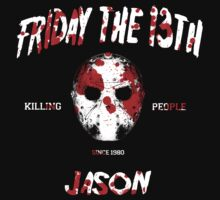 JASON friday the 13th by 126pixels