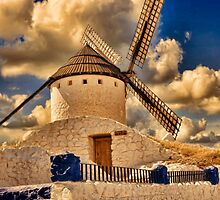 Spanish windmill by marcopuch