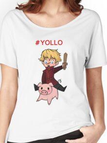 #YOLLO Women's Relaxed Fit T-Shirt