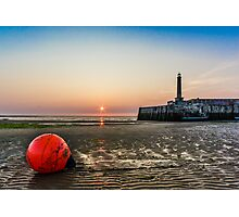 Margate Beach low tide Photographic Print