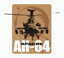 AH-64 Apache Helicopter by miirimage