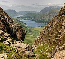 Buttermere and Crummock Water by VoluntaryRanger